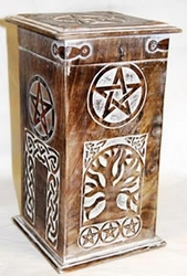 Witches' Pentagram Cupboard