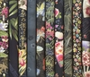 10 BLACK ASIAN JAPANESE FAT QUARTERS (2 1/2 Yds.)