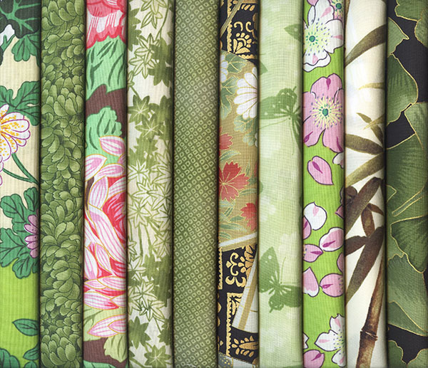 Asian Fat Quarters 115