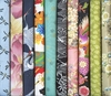 10 Multi-Color Fat Quarter Asian Fabrics (2 1/2 Yds)