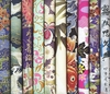 10 Multi-Color Fat Quarter Asian Fabrics - Set V (2 1/2 Yds)