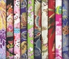 10 Multi-Color Fat Quarter Asian Fabrics - Set IV (2 1/2 Yds)