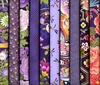 10 PLUM/PURPLE ASIAN JAPANESE FAT QUARTERS (2 1/2 Yds.)