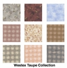 9 Taupe Fat Quarter Collection - 2 1/4 YDS
