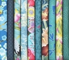 10 Turquoise/Teal Fat Quarter Collection (2 1/2 Yds)