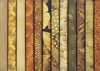 12 Asian Gold Fat Quarter Collection  (3 Yards)