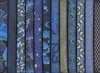 12 Asian Indigo Fat Quarter Collection