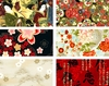 6 ASIAN FAT QUARTER ASSORTMENT II (1 1/2 Yds.)