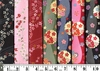 7 FAT QUARTER CHIRIMEN COLLECTION: 1 3/4 YDS