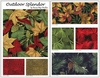 7 OUTDOOR SPLENDOR Fat Quarter Bundle: Red (1 3/4 Yds)