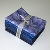8 BLUE TONAL FAT QUARTERS: 2 Yds.