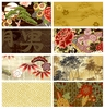 8 BROWN/GOLD FAT QUARTER COLLECTION (2 yds)