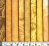 8 GOLD/YELLOW TONE ON TONE FAT QUARTER BUNDLE: (2 YDS)