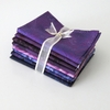 8 PURPLE-PLUM TONAL FAT QUARTERS: 2 YDS.