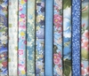 10 Sky Blue Fat Quarter Collection (2 1/2 Yds.)