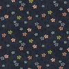 ASAMI COLLECTION: Delicate Floral Vines - Black (1/2 Yd.)