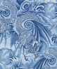 Asian Dragons: Blue Tonal (1/2 Yard)