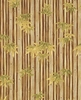 Bamboo Forest: Brown/Gold (1/2 Yd)
