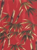 Bamboo Garden: Red (1/2 Yd Increments)