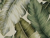 BANANA LEAVES: Cream Barkcloth Upholstery/Home Dec (BTY)