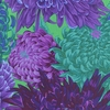 Bold & Beautiful: Purple/Violet/Green (1/2 yard)