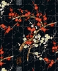 Cherry Blossom Branches: Black/Gold (1/2 Yd)