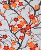 CHERRY BLOSSOM BRANCHES: RED (1/2 Yd)