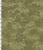 Cherry Blossom Silhouettes - Tone-on-Tone Green (1/2 Yd.)