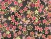 CHO CHO Collection: Butterflies & Cherry Blossoms - Black (1/2 Yd.)