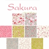 NEW ARRIVAL! SAKURA: 3 Designs by Moda