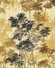Crane Dynasty - Bamboo Forest: Tan (1/2 Yd)