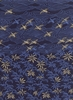 CRANES & JAPANESE MAPLE: Indigo/Sand (1/2 yd.)