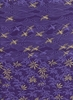 CRANES & JAPANESE MAPLE: Purple/Sand (1/2 yd.)