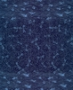 DRAGONFLIES & WAVES: Navy (1/2 Yd)