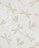 DRAGONFLY FOSSILS: Cream (1/2 Yd.)