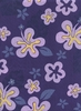 FUN TROPICAL POLY/COTTON FABRIC: Purple (BTY)