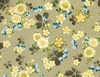 GARDEN OF DREAMS - BLOSSOMS AFLOAT: Taupe (1/2 YD.)