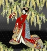 Geisha Dynasty: Panel (24 inches x 22 inches)