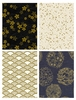 GOLD METALLIC DESIGNS by Quilt Gate