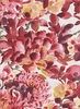 GRACE: Watercolor Garden: Red (1/2 Yd.)