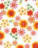 HAPPY GARDEN: Medium/Small Scale Floral (1/2 yd.)