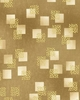 IMPERIAL 10 COLLECTION: Gold Leaves on Squares (1/2 Yd.)