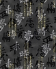 JAPANESE CALLIGRAPHY: Black (1/2 Yd.)