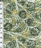 JAPANESE CRESTS: Green/Gold (1/2 Yd)