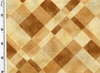 JAPANESE TAUPE: Design 5001 - Wheat/Saddle Brown (1/2 Yd.)