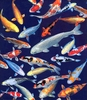 AVAILABLE NOW!  KOI GATHERING: 1/2 Yard Increments