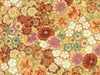 KOTORI COLLECTION:  Floating Blossoms - Antique/Gold (1/2 Yd.)