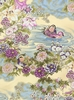 KOTORI COLLECTION: Mandarin Ducks - Orchid/Gold (1/2 Yd.)