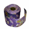 LILAC RAYON CHIRIMEN RIBBON - 2 Inch Wide: Flowers (6 Yd. Roll)