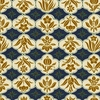 MODERN MOVEMENT: Design 13 - Navy (1/2 Yd.)